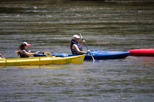 kayaking Catawba River