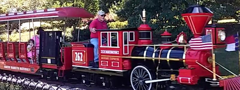 Kannapolis Christmas Train Ride