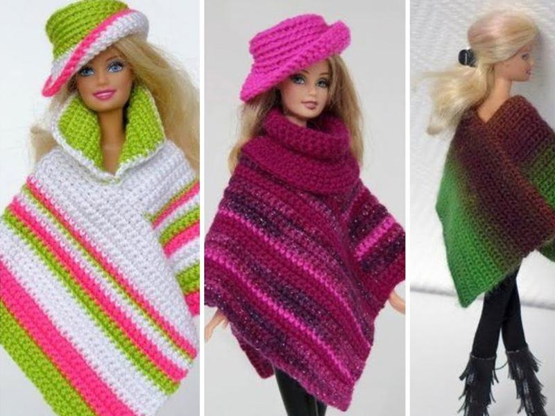 DIY Barbie Shawl