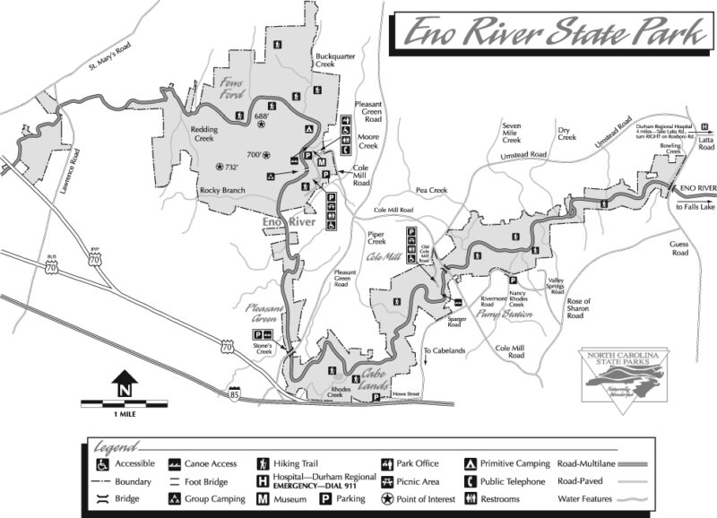 Eno River Map