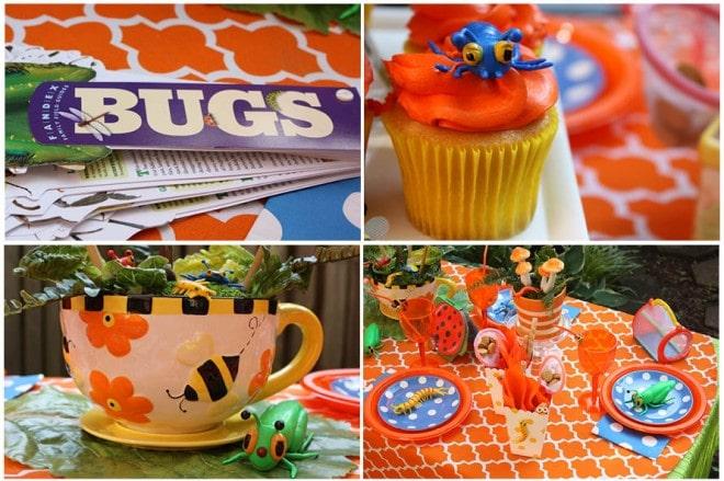 Colorful + Fun Bug Birthday Party!