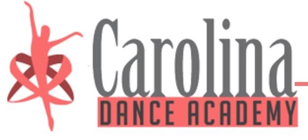 Carolina Dance Academy Logo
