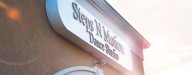 Steps N Motion sign