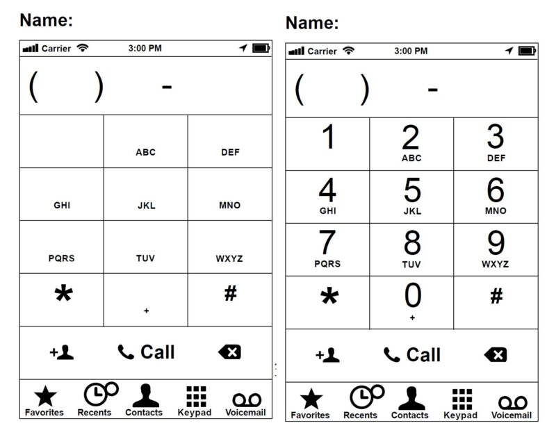 learning address and phone number worksheet